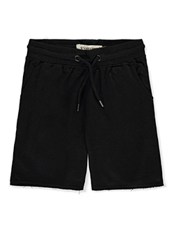 French Terry Drawstring Shorts by Evolution in Design in black, heather gray, royal blue and more