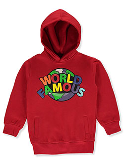 Boys' World Famous Hoodie by FWRD in Red