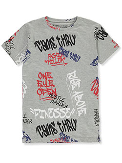Evolution In Design Boys' Came Thru T-Shirt by Evolution in Design in Heather gray, Boys Fashion