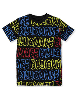 Boys' Billionaire T-Shirt by FWRD in black, heather gray and natural