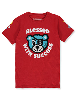 Boys' Dream Big Hoodie by FWRD in red and timberland