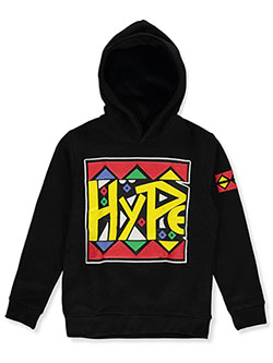 Evolution In Design Boys' Hype Hoodie by Evolution in Design in black and red