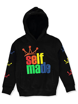 Evolution In Design Boys' Self Made Hoodie by Evolution in Design in Black