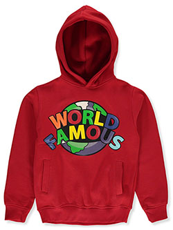 Evolution In Design Boys' World Famous Hoodie by Evolution in Design in Red