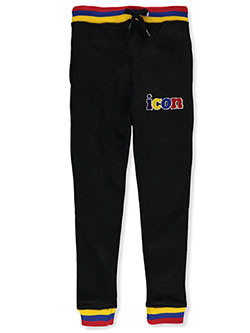 Boys' Icon Joggers by Evolution In Design in Black - Sweatpants