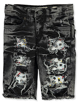 Baby Boys' Pieced Jeans by FWRD in White/black