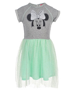 "Minnie Mouse Little Girls' ""Casual Pizzazz"" Dress (Sizes 4 – 6X) - CookiesKids.com"