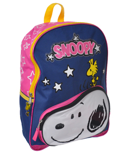 "Peanuts ""Stars & Snoopy"" Backpack - CookiesKids.com"
