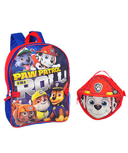 "Paw Patrol ""Heroic Pups"" Backpack with Lunchbox - CookiesKids.com"