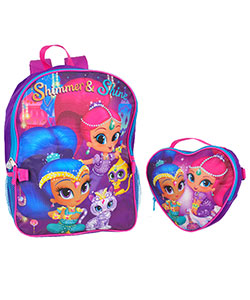 "Shimmer and Shine ""Magical Surprise"" Backpack with Lunchbox - CookiesKids.com"