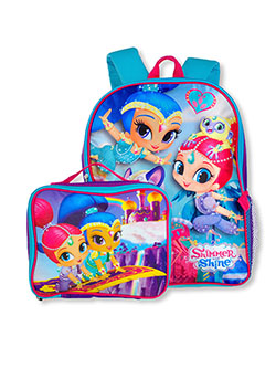 Backpack & Lunchbox Set by Shimmer And Shine in Multi - $9.99
