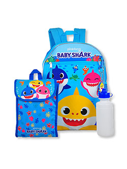 Backpack 4-Piece & Accessories Set by Pinkfong Baby Shark in Multi - $14.99
