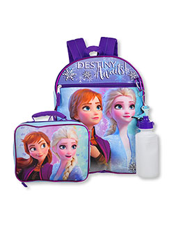 Frozen 4-Piece Backpack & Accessories Set by Disney in Multi