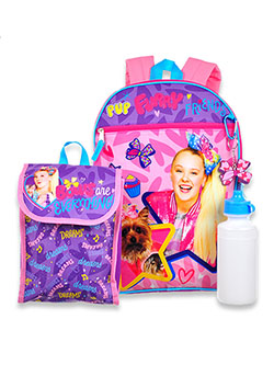 JoJo Siwa 4-Piece Backpack & Accessories Set by Nickelodeon in Multi