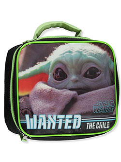 Baby Yoda Wanted Lunchbox by Star Wars in Multi - $15.00