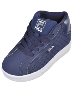 "Fila Boys' ""Oxidize 2"" Hi-Top Sneakers (Toddler Sizes 13 – 4) - CookiesKids.com"