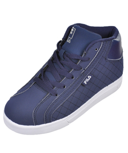 "Fila Boys' ""Oxidize 2"" Hi-Top Sneakers (Youth Sizes 13 – 5) - CookiesKids.com"