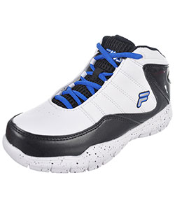 "Fila Boys' ""Sweeper"" Hi-Top Sneakers (Toddler Sizes 11 – 12) - CookiesKids.com"