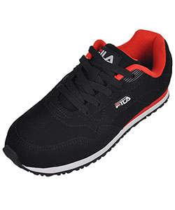 "Fila Boys' ""Cress"" Sneakers (Youth Sizes 13 – 4) - CookiesKids.com"