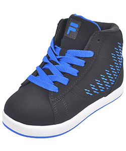 "Fila Boys' ""Dyano 2"" Hi-Top Sneakers (Toddler Sizes 7 – 10) - CookiesKids.com"