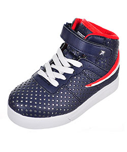 Fila Boys' Vulc 13 Hi-Top Sneakers (Sizes 6 – 10) - CookiesKids.com