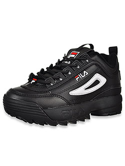 Boys' Disruptor II Sneakers by Fila in Black multi