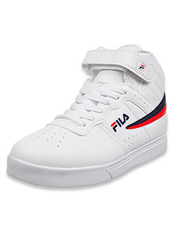Boys' Vulc 13 Hi-Top Sneakers by Fila in White/multi