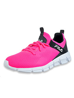 Girls' Capello Running Sneakers by Fila in Pink/multi, Shoes