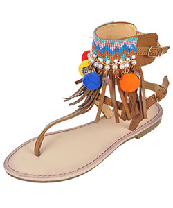 "Link Girls' ""Bold Step"" Sandals (Youth Sizes 13 – 3) - CookiesKids.com"