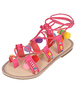 "Link Girls' ""Gem Laces"" Sandals (Youth Sizes 13 – 3) - CookiesKids.com"