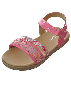 "Link Girls' ""Prismatic"" Sandals (Toddler Sizes 4 – 8) - CookiesKids.com"