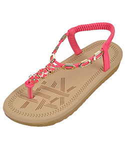 "Link Girls' ""Mimi"" Sandals (Youth Sizes 13 – 4) - CookiesKids.com"