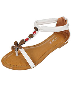 "Link Girls' ""Spring Beach"" Sandals (Youth Sizes 13 – 4) - CookiesKids.com"