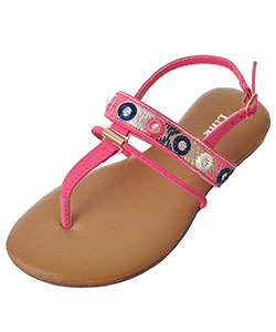 "Link Girls' ""Ronnie"" Sandals (Toddler Sizes 9 – 12) - CookiesKids.com"