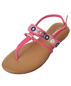 "Link Girls' ""Ronnie"" Sandals (Youth Sizes 13 – 4) - CookiesKids.com"