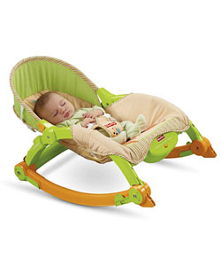 "Fisher-Price ""Mocha Butterfly"" Comfy Time Bouncer - CookiesKids.com"