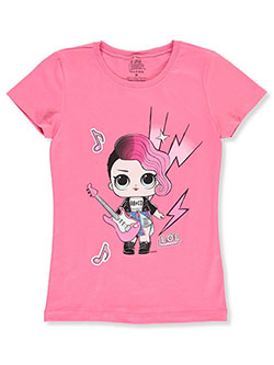 Girls' T-Shirt by LOL Surprise in Fuchsia