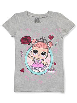 "Girls' ""Center Stage"" T-Shirt by LOL Surprise in Gray multi"