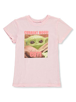 Girls' Baby Yoda Meme T-Shirt by Star Wars in pink/multi and white/multi - T-Shirts