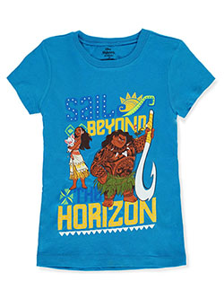 Disney Moana T-Shirt by Freeze in aqua/multi and white/multi
