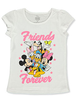Girls' Friends Forever T-Shirt by Disney in White/multi - T-Shirts