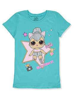 Girls' Glitterati T-Shirt by LOL Surprise in Teal/multi