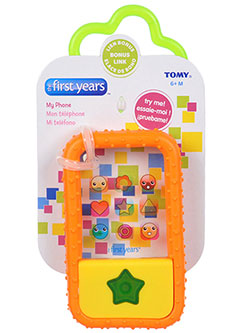 """My Phone"" Teether by The First Years in Orange"