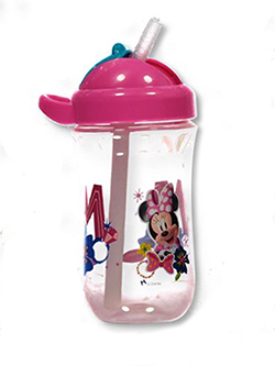 Minnie Mouse Straw Cup by Disney in Yellow/fuchsia