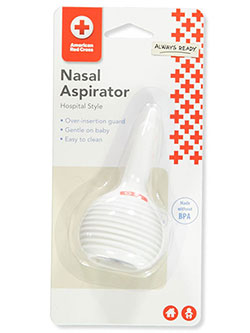 Nasal Aspirator by American Red Cross in White, Infants
