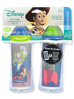 Toy Story 2-Pack Insulated Sippy Cups by Disney in Blue multi