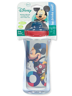 Mickey Mouse Insulated Sippy Cup by Disney in blue, gray multi, red and teal/multi