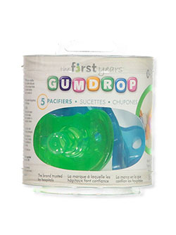 5-Pack Pacifiers by The First Years in Green multi
