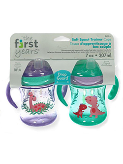 Soft Spout 2-Pack Trainer Cups by The First Years in Purple multi