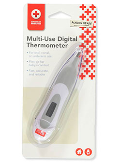 Multi-Use Digital Thermometer by American Red Cross in White multi, Infants